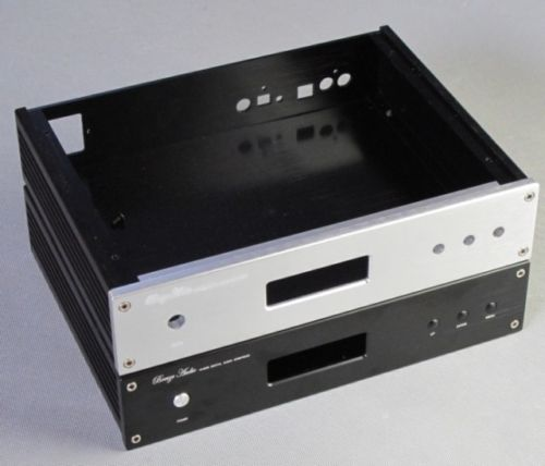 цена на BZ2806B DAC Enclosure Full Aluminum AMP Chassis DAC Box Premplifier Case Audio Decoder Housing