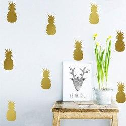 Cuisine fruits vinyle ananas autocollants adhésif para pared stickers muraux déco stickers muraux pour enfants chambres
