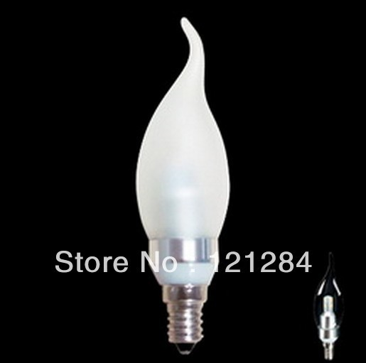 Hot selling LED chandelier lights, 3W beam angle 360 degrees led chandelier bulbs 100% SAMSUNG led chips chandelier led bulb