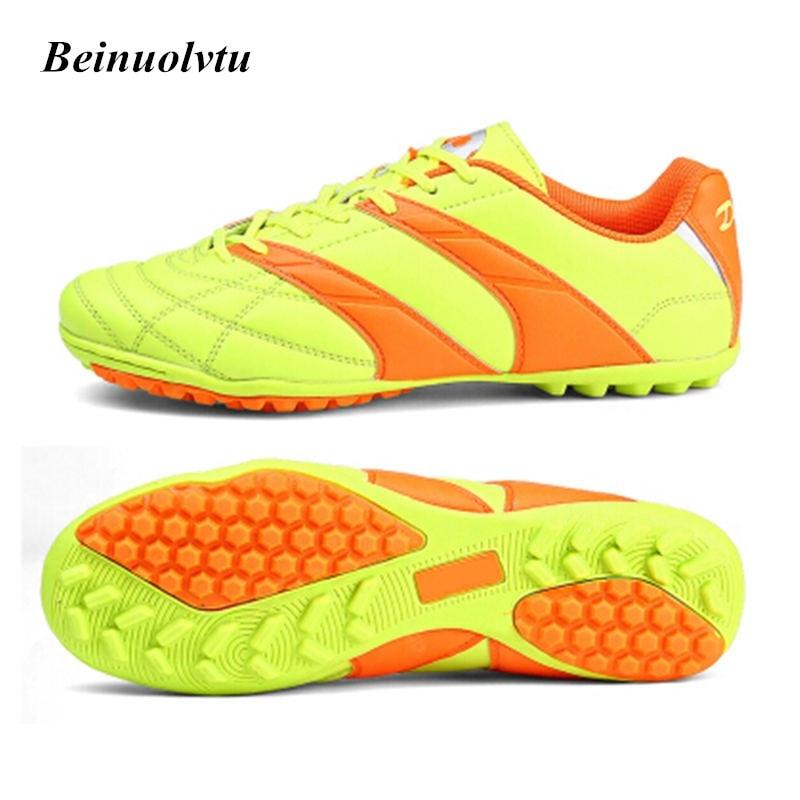 high quality football shoes boys soccer boots football