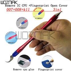 Usunięcia IC procesor nóż linii papilarnych otworzyć okładka artefakt wielofunkcyjny naprawa narzędzie pincety łopata linii papilarnych dla iphone naprawy|Zestawy narzędzi ręcznych|Narzędzia -