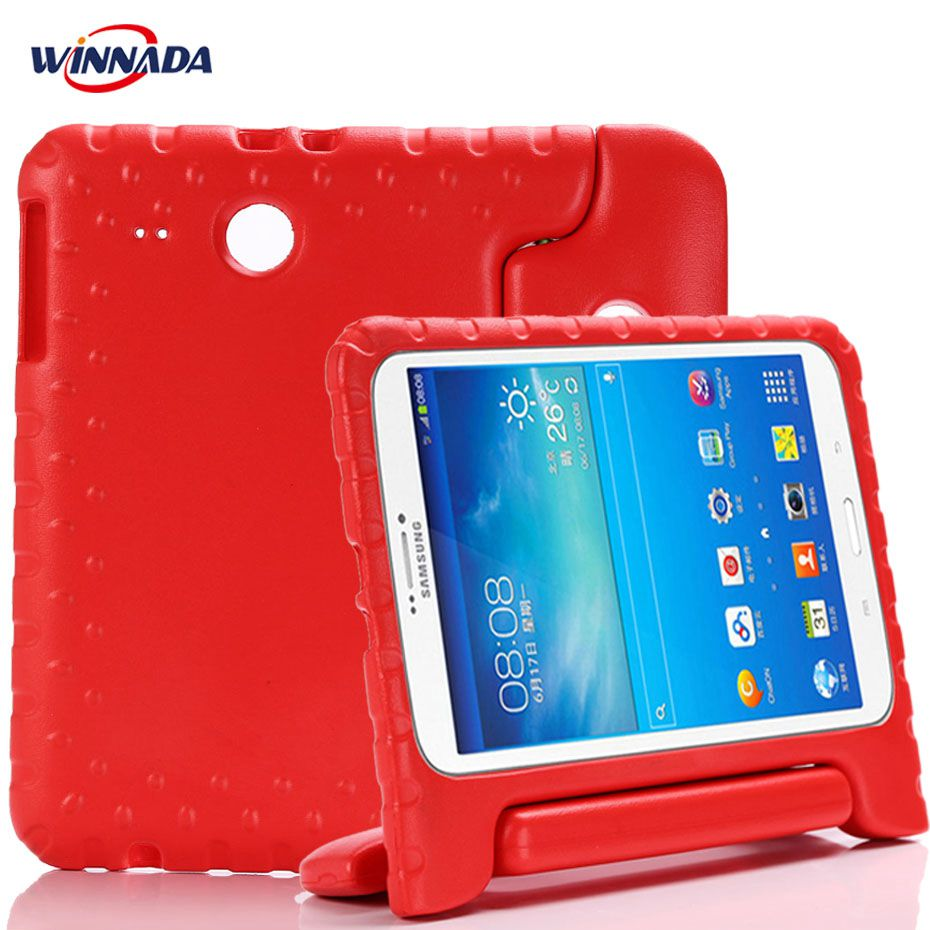 Case For Samsung Galaxy Tab E 9.6 T560 T561 Hand-held Full Body Kids Children Safe Silicone For SM-T560 Tablet Cover