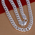 HOT sale New 2014 jewelry,925 sterling silver jewelry necklaces & pendants 10mm width men jewelry necklace High quality N253