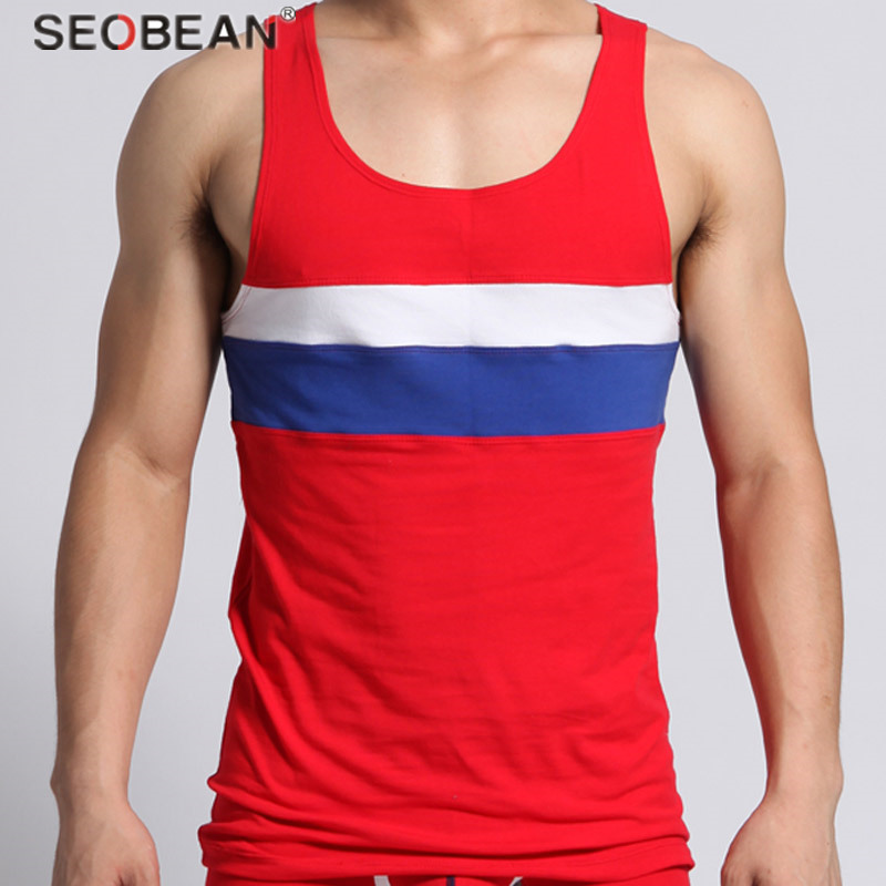 Top Male Sauna Quick Dry Athletic Fit Outdoor Sports Training Man Running Vests Undershirts Sleeveless Shirts Men 1220702-1
