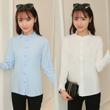2020 Fashion Women Top Female Summer Office Lady Formal Party Long Sleeve Slim C