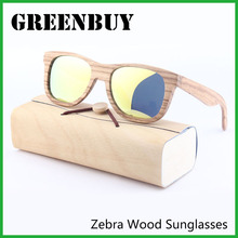 Bobo Bird Wood Sunglasses 100% UV Yellow Polarized Lens Female Sunglasses Fishing/Golf Sun Glasses for Men/Women Versae GB005