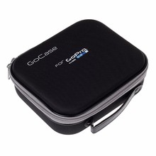купить for Gopro 7 Hero 5 Hero4 3+ SJCAM SJ4000 Xiaomi Yi 2 4K Action Camera Bag Protective Shockproof handbag Collection Storage Case по цене 643.5 рублей