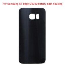 JPFix для Samsung Galaxy S7 edge G9350 G935F задняя крышка батарейного отсека стеклянный корпус+ стекло с клейкой наклейкой