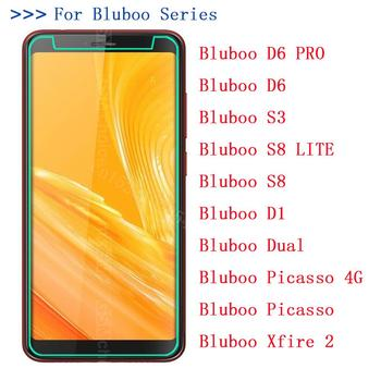 Tempered Glass Protection Film Explosion-proof Strike Screen For Bluboo S3 D1 D6 PRO S8 LITE Dual Picasso 4G Xfire 2 x9 image