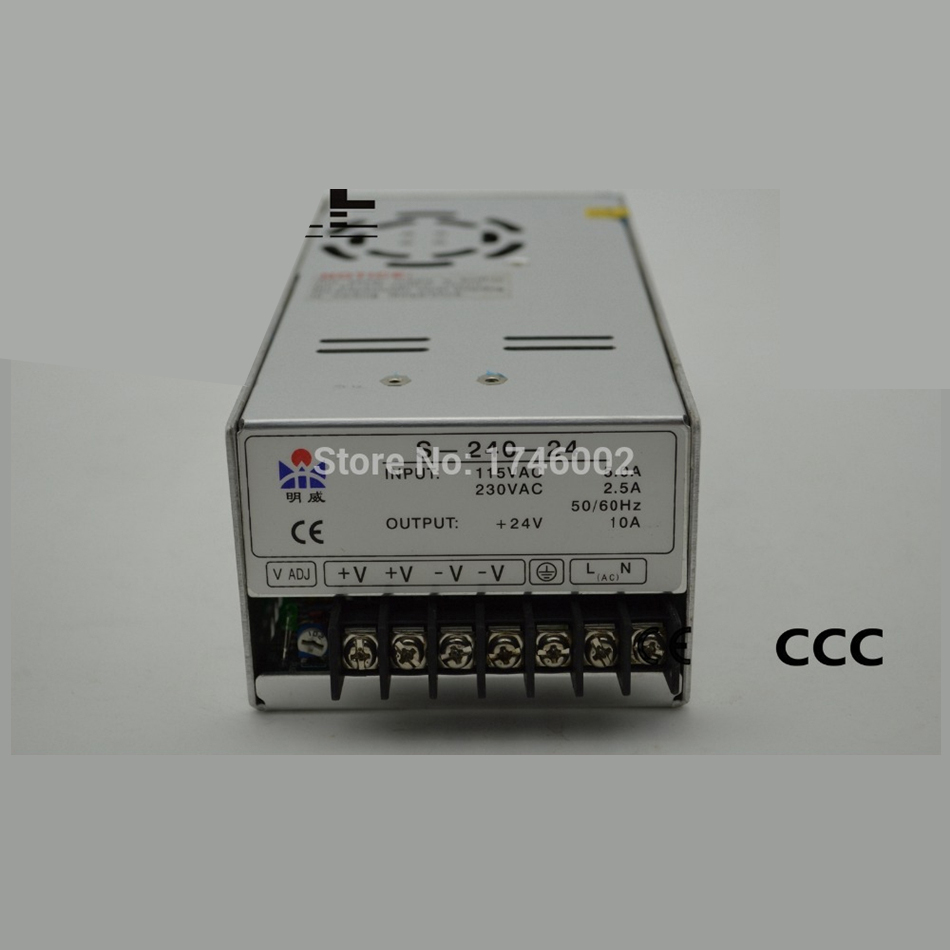 ac to dc 24V10A 240W S-240-24 reIiabIe universaI CE efficiency monitoring Ied driver source switching power suppIy voIt ac to dc woderfui universai 100w singie output s 100 mode manufturer s 100 27 ied driver source switching power suppiy voit