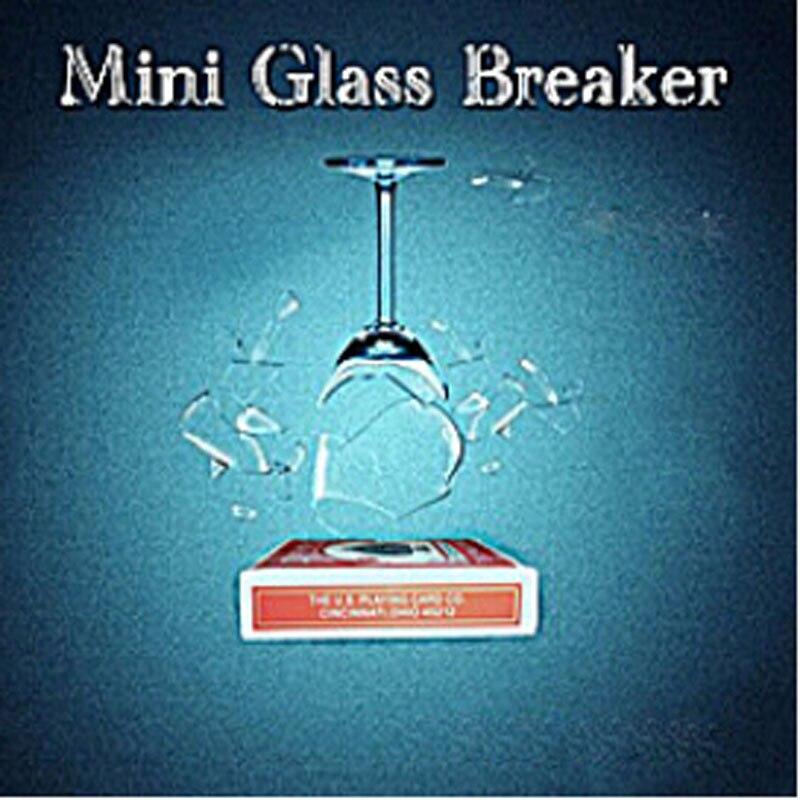 Mini Glass Breaker  - magic Trick,glass breaking magic,accessories props,gimmick,comedy,illusion 4d gift board trick magic trick stage illusion gimmick accessories comedy