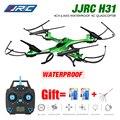 À prova d' água drone jjrc h31 nenhuma câmera ou câmera de 2mp wi-fi ou fpv câmera modo headless quadcopter rc helicóptero vs syma x5hw x5sw