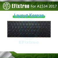 New Original 2016 2017 Laptop Layout For Macbook 12 Retina A1534 Keyboard Korean MLHA2 MLHC2 EMC 3099 For Replacement