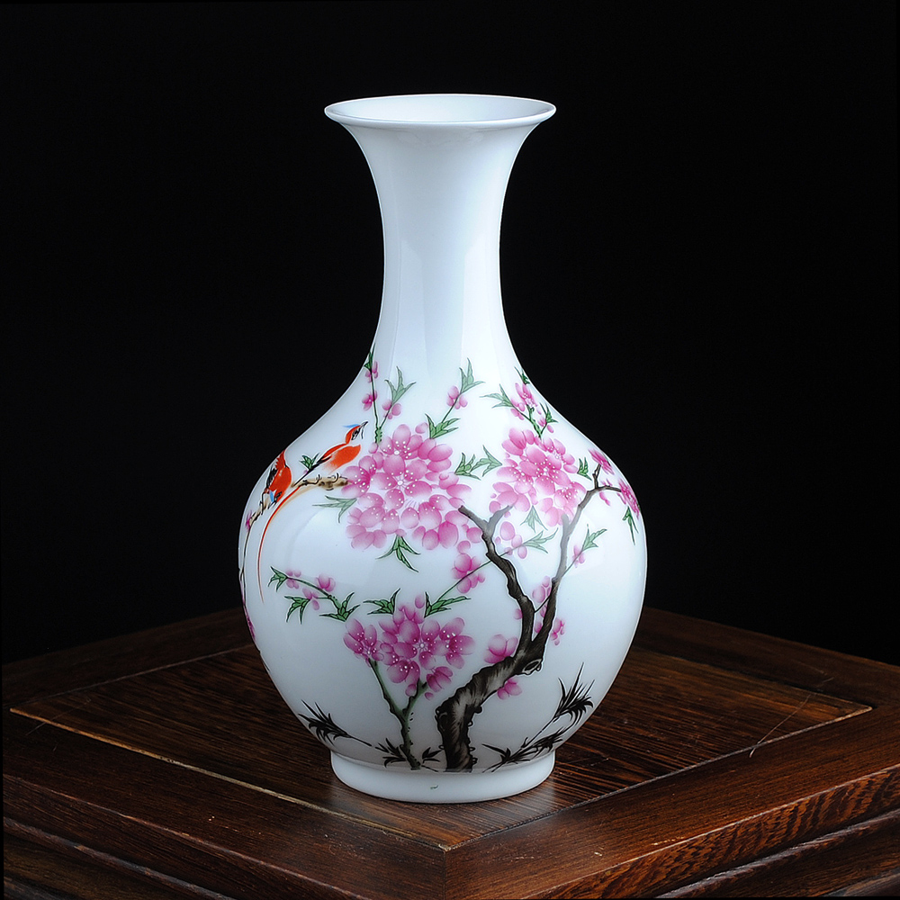 Free Shipping Mini delicate chinese famille rose porcelain flower - Home Decor - Photo 5