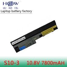 цена на New 7800mah Laptop battery L09C3Z14 L09C6Y14 L09M3Z14 L09M6Y14 for Lenovo ThinkPad S100 S100c S10-3 S110 S205 U160 U165 M13