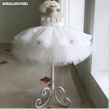 Платье для девочек; платье принцессы на день рождения, свадьбу; платья для маленьких девочек; бальное платье на крестины