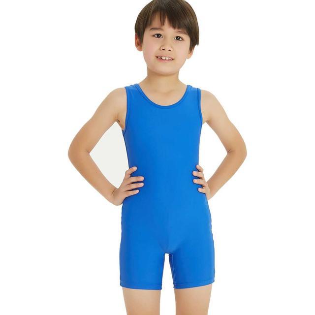 New Dance Boys Basic Gymnastics Leotard Classic Ballet Practice Atheletic Tank Bodysuit NT17067