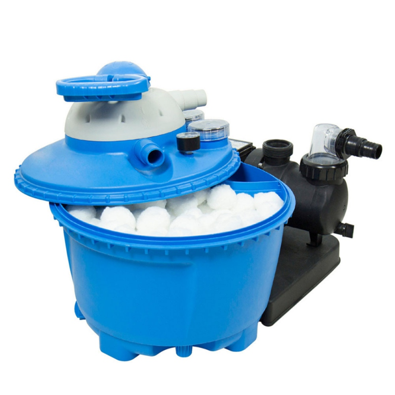 Pool Filter Balls High Density Cotton Filter Balls Capacity Pool Water Treatment Reusable Renewable Eco Friendly Replacement