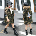Girls Winter Coat camouflage Children Jackets Parkas Kids Winter Outerwear Thicken Warm Clothes Baby Girls Clothing