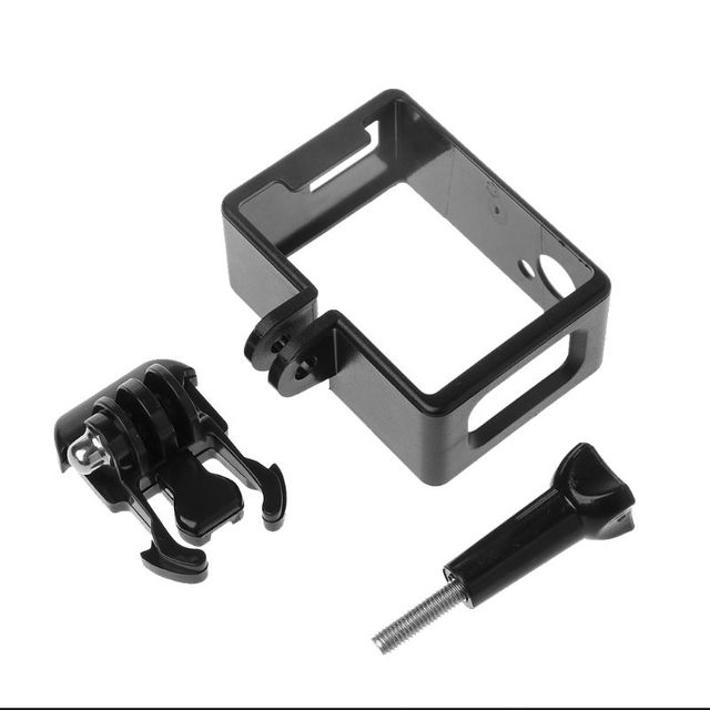 1 Set Koruyucu Çerçeve Sınır Yan Standart Shell Konut Case Toka Montaj Aksesuarları için SJ6000 SJ4000 Wifi Eylem Kamera Kamera