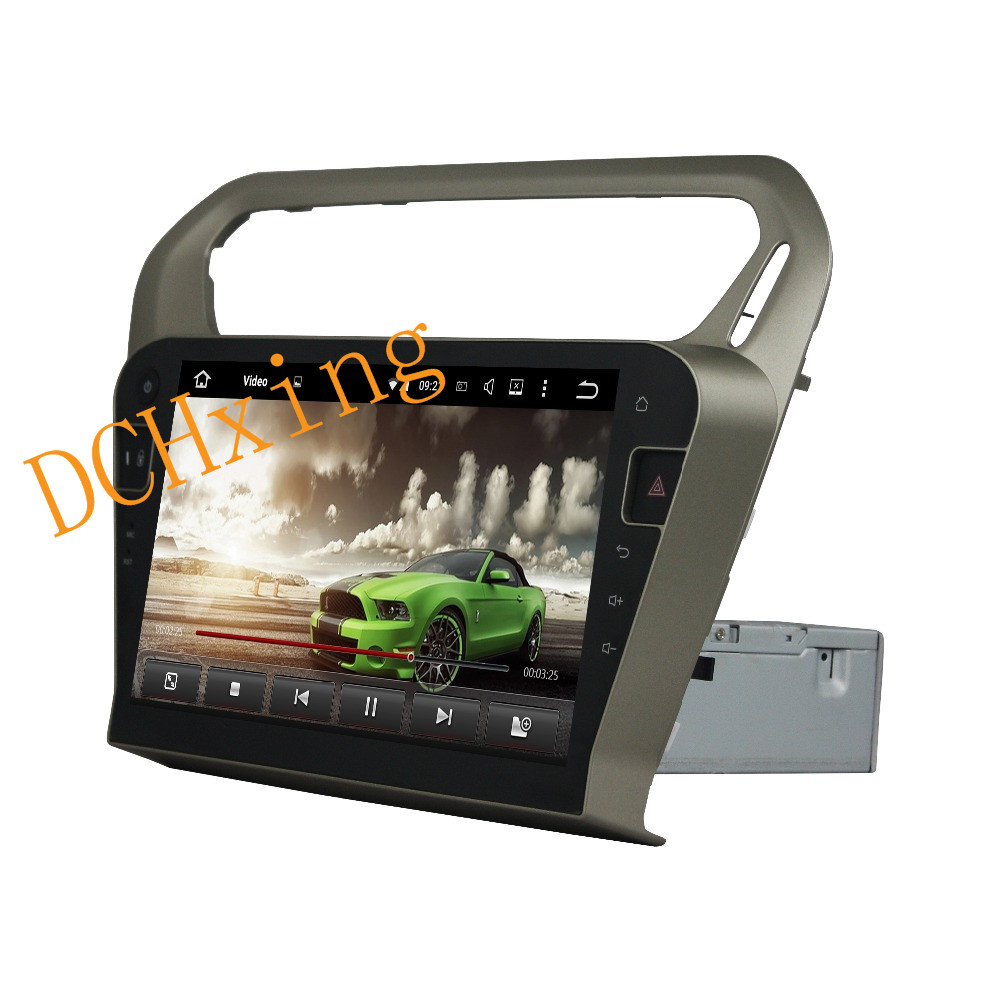 """Flash Deal 10.1"""" Octa Core Android 9.0 8 core 64G ROM 4G RAM Car DVD Player for Peugeot PG 301 2013-2016 Citroen Elysee GPS Radio 13"""