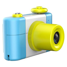 Cartoon Digital Small SLR Camera Toy Gift For Children Toy Cameras With Stickers Entertainment Camera Toys Birthday Xmas Gifts
