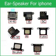 100 oryginalny Głośnik słuchawki dla iPhone 4 4S 5 5s 5c SE 6 6S Plus Głośnik słuchawki słuchawka ucho głośnik wymiana części telefonu komórkowego tanie tanio Jabłko iPhone Bukhari 1szt Tajwan bezpieczny pakiet