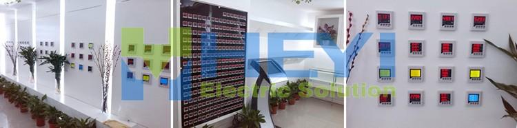 company display of digital meter