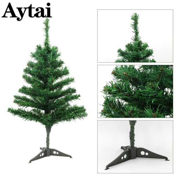 aytai 60cm small artificial christmas tree fake pine tree christmas placed in the desktop home christmas - Small Artificial Christmas Tree