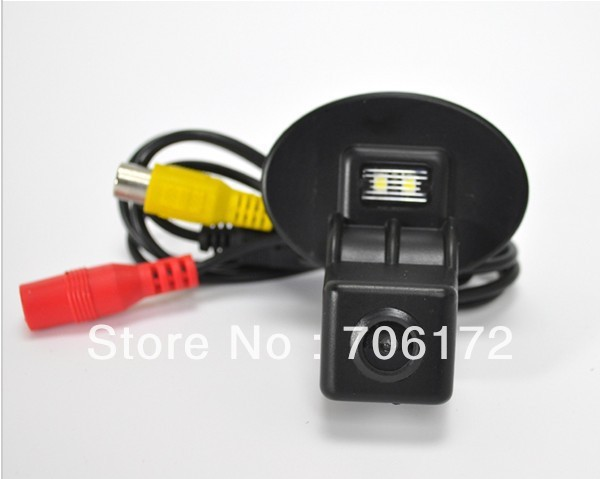 Factory selling car rear view Camera for KIA FORTE/Hyundai Verna with wide viewing angle