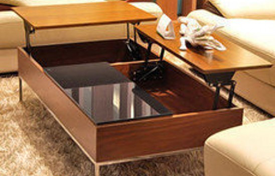 Multi Function Furniture Fitting Lift Up Mechanism For Coffee