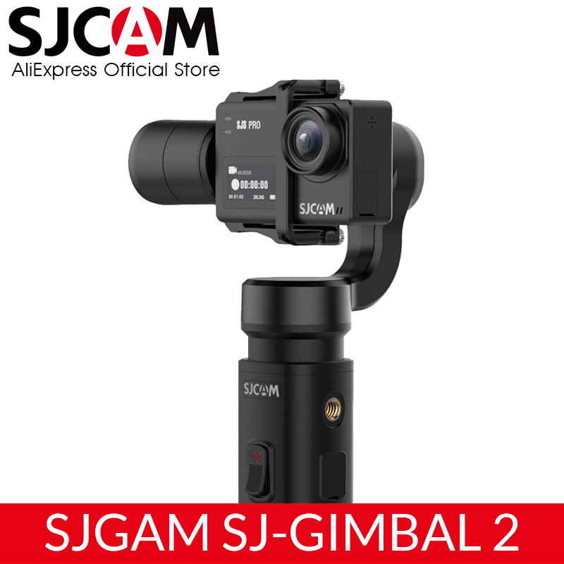 SJCAM Handheld GIMBAL 2 3 Axis Stabilizer Bluetooth Control Type C SJ Gimbal 2 for SJ6