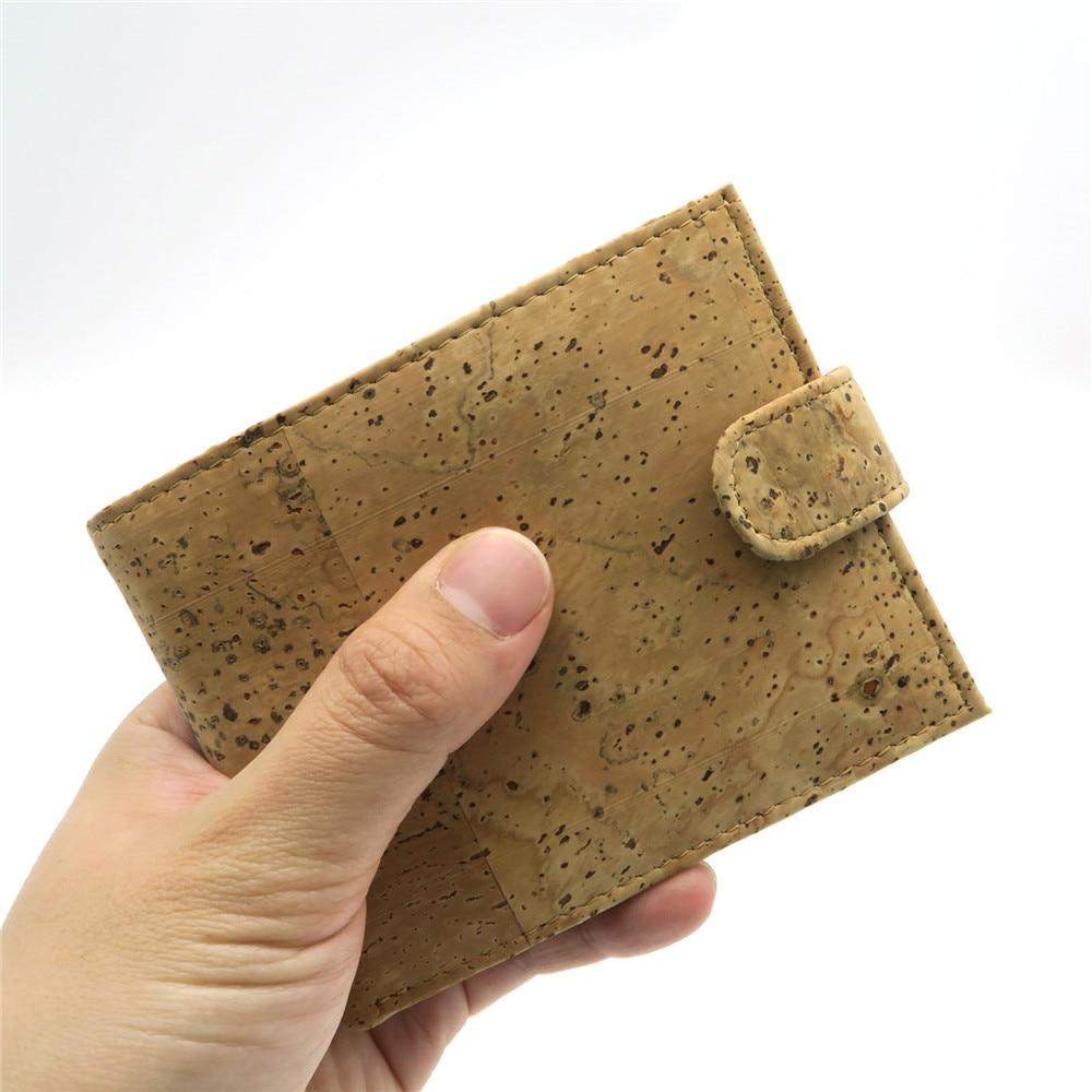 Natural Cork Plånbok för män cork vegan handgjorda avslappnade - Plånböcker - Foto 5