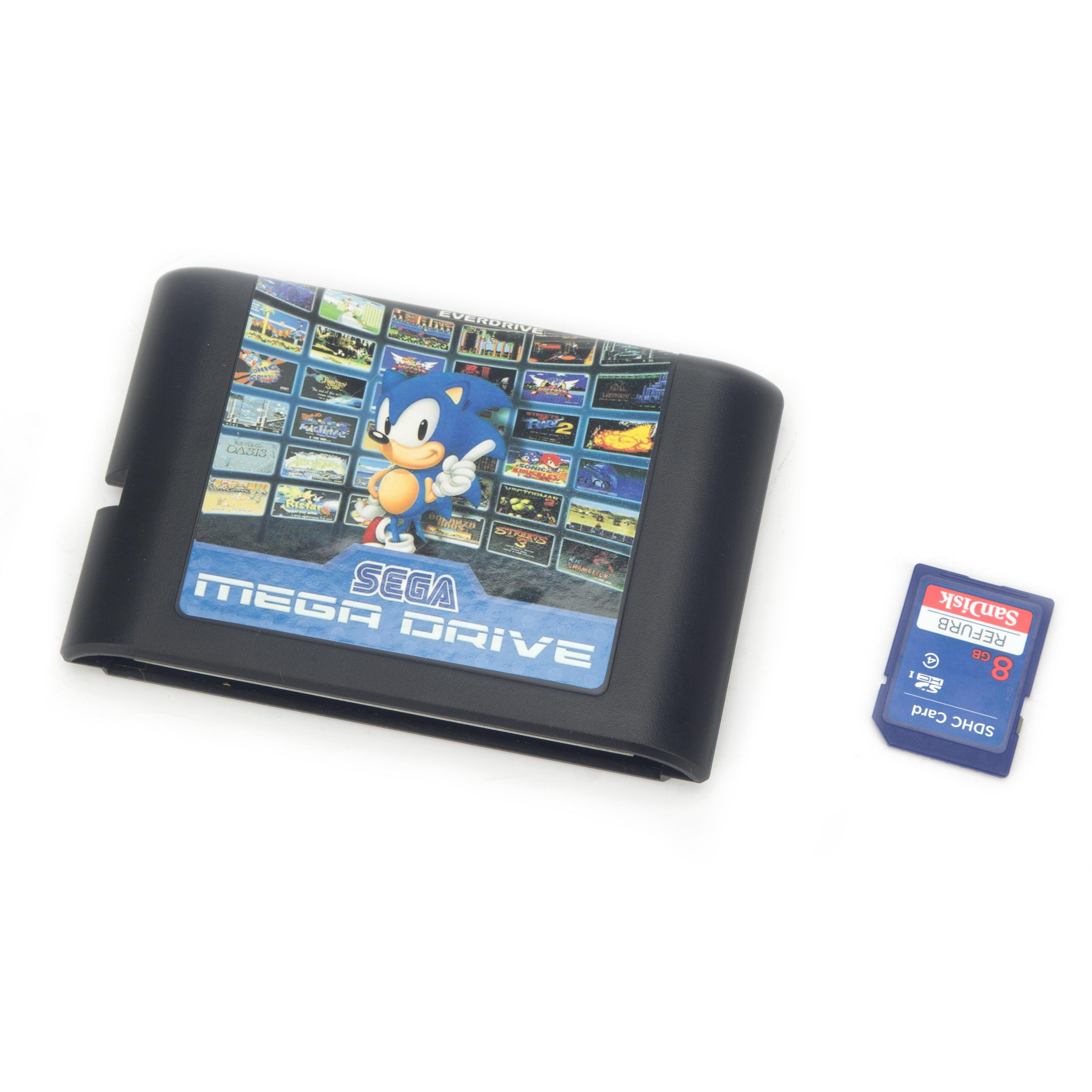 820 en 1 cartouche de jeu 16 bits carte de jeu pour Sega Mega Drive Genesis cartouche de jeu Contra Gunstar Heroes Alien soldat rues