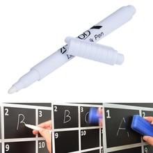 Классная стереть экологически мел белая легко материал маркер жидкость стекла чистый