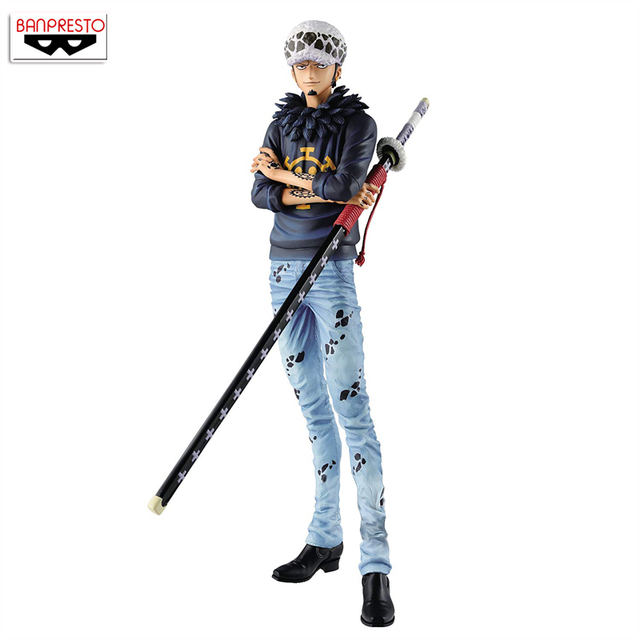 "Japan Anime ""ONE PIECE"" Original Banpresto Grandista THE GRANDLINE MEN Collection Figure - Trafalgar Law"