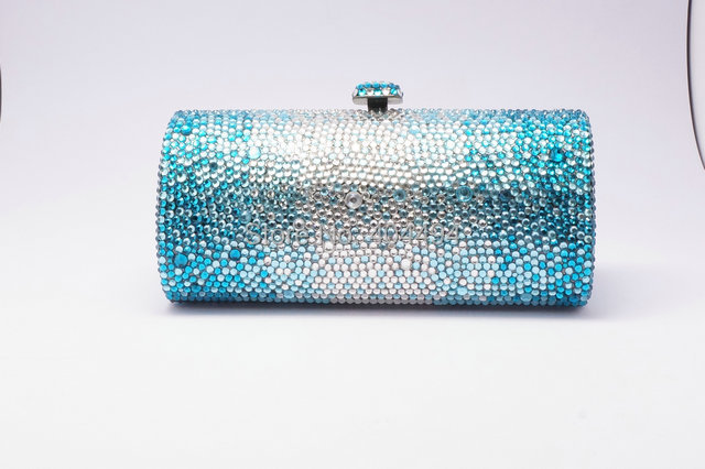 4b52423dae Light blue and green color luxury designer handbags and designer bags  clutches online sale in china