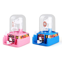 Hot Selling Creative Puzzle Hand Eye Coordination Game Machine children's Toys Mini Catch Candy Machine Catch Doll Machine