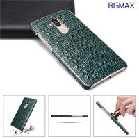 Natural Real Genuine Cow Leather Cover Case For Huawei MATE9 Case The Crocodile Grain Genuine Leather