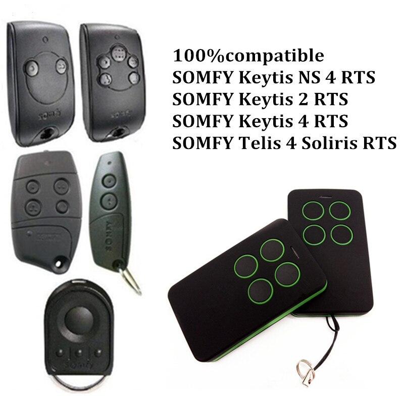 20pcs for SOMFY Keytis NS 2 RTS, Somfy Keytis 4 NS RTS garage door remote control high quality