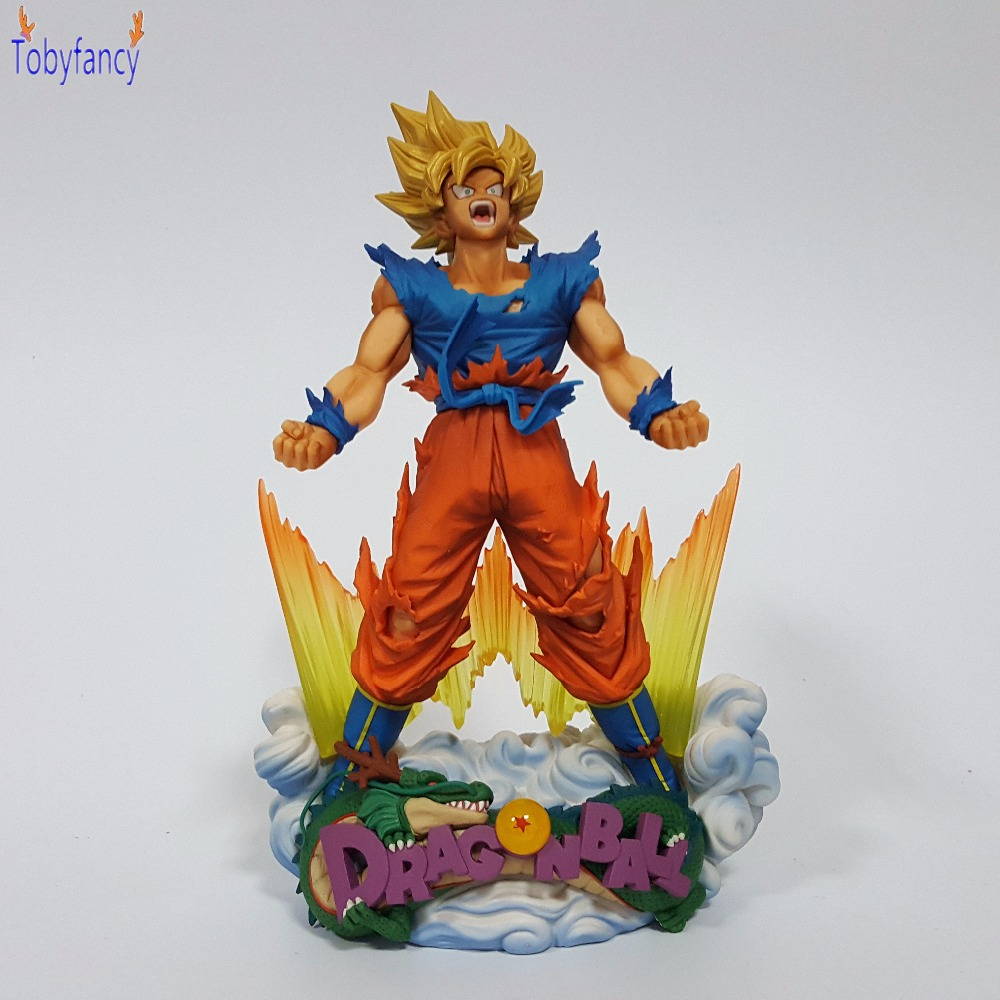 Dragon Ball Action Figures SMSD Son Goku Anime Dragonball Original Brand Collectible Model Toy dragon ball z action figures super saiyan son goku grey color anime dbz collectible model toys 350mm dragon ball gt toy