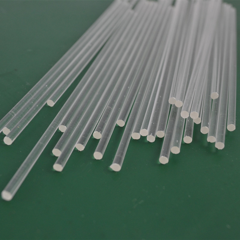 200pcs lot Acrylic Clear Rods OD3X1000MM PMMA Plastic Stick Business Hotel Home Decor Can Cut