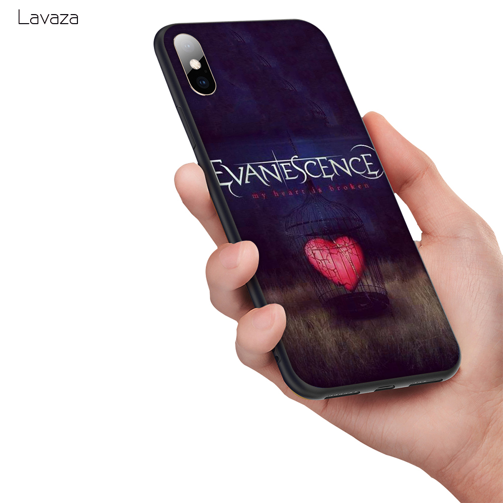 Lavaza Evanescence Soft Silicone Case Cover for Apple iPhone 6 6S 7 8 Plus 5 5S SE X XS MAX XR TPU Cases in Fitted Cases from Cellphones Telecommunications