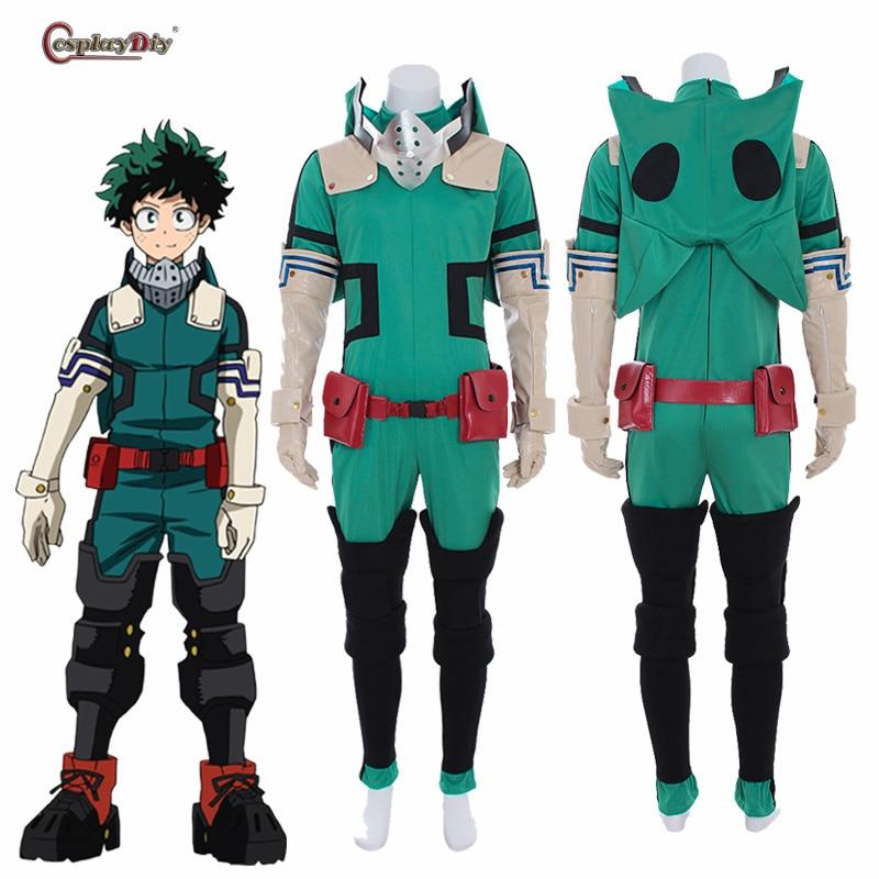 d1edb19888 Boku no Hero Akademia Cosplay My Hero Academia Izuku Midoriya Deku disfraz  capa con capucha para