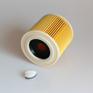 Image 3 - 3 шт. пылезащитные фильтры для Karcher Запчасти для пылесосов картридж HEPA фильтр WD2250 WD3.200 MV2 MV3 WD3 фильтр Karcher