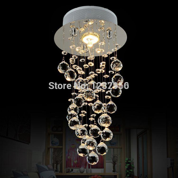 modern led lustres e pendentes lustres de cristal abajur. Black Bedroom Furniture Sets. Home Design Ideas