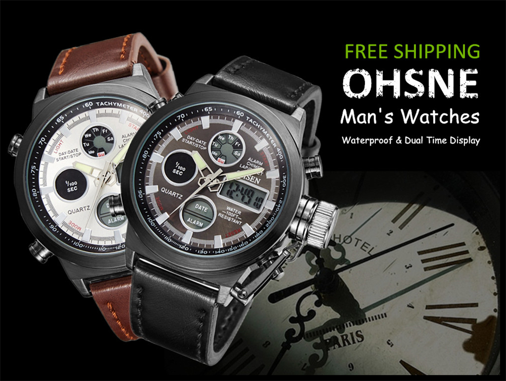 Hot Selling Original Famous Brand OHSEN Digital Sport Mens Watch Male Clock Nylon Band Fashion Diving Wristwatches For Men Gift (38)