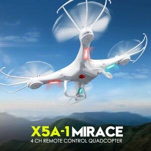 Image 2 - SYMA оригинальный X5A Квадрокоптер, Радиоуправляемый вертолет 6 осевой Gyro RC Дрон дрона с дистанционным управлением устойчивый к тряске летательных аппаратов без Камера игрушки для детей