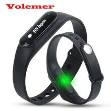 Новый оригинальный c6 смарт браслет здоровья браслет монитор сердечного ритма сна фитнес-трекер шагомер smartband pk mi группа 1 s