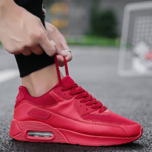 Man Sport Shoes True Trend Ultra Air Cushion 2018 High quality Lace-up Brand Adult Sneaker Black Red PU upper Outdoor Tennis